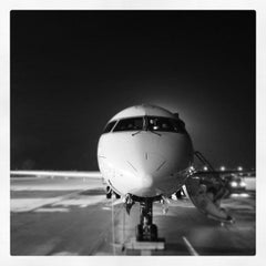 Photo taken at Blue Danube Airport Linz (LNZ) by Gerald H. on 12/1/2012