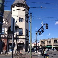 Photo taken at Coolidge Corner by ozge on 3/9/2015