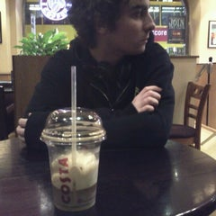 Photo taken at Costa Coffee by Rina ◇. on 1/28/2013