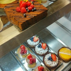 Photo taken at Jules Cafe Patisserie by William M. on 10/24/2015