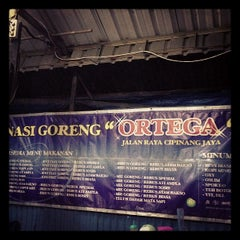Photo taken at Nasi Goreng Ortega by Wisa E. on 5/20/2013