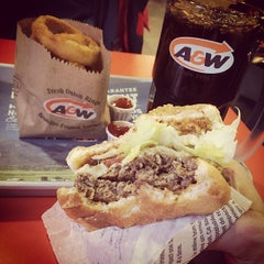 Photo taken at A&W by satonaka s. on 3/6/2014