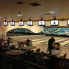 Photo taken at Cosmic Bowling by Cihangir U. on 5/16/2013