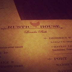 Photo taken at Rustic House by Andrew M. on 12/9/2012