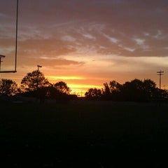 Photo taken at A. A. Garthwaite Stadium by Mike M. on 10/15/2012