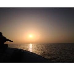 Photo taken at Delma Island by Abdulrahman islami on 2/8/2013