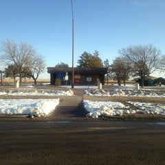 Photo taken at I70 Rest Area Near Russell KS by Darla on 3/4/2013