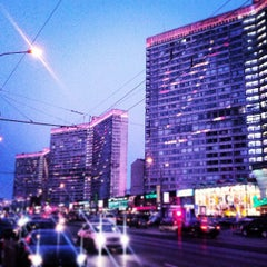 Photo taken at Новый Арбат / New Arbat Street by Andrey A. on 3/8/2013