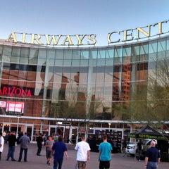 Photo taken at US Airways Center by Arthur Y. on 3/7/2013