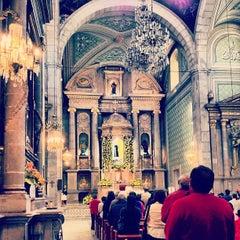 Photo taken at Templo de San Francisco by Francisco B. on 10/4/2012