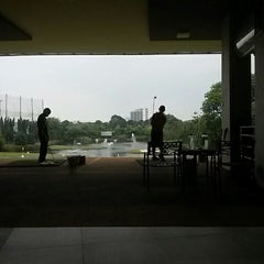 Photo taken at Pondok Indah Golf Driving Range by Andrie W. on 10/24/2014