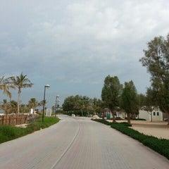 Photo taken at Al Mamzar Park (حديقة الممزر) by kroshka mel on 11/22/2012