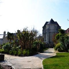 Photo taken at Jardin de la Retraite by Gwennole O. on 5/9/2014