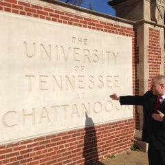 Photo taken at University of Tennessee at Chattanooga by Hank M. on 12/15/2012