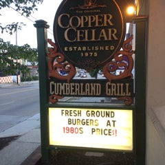 Photo taken at The Original Copper Cellar by Hank M. on 7/24/2014