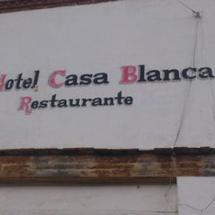 Photo taken at Hotel Casa Blanca by Contreras R. on 1/6/2013
