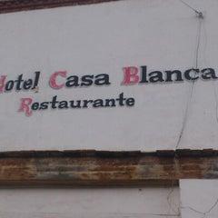 Photo taken at Hotel Casa Blanca by Contreras R. on 1/6/2013