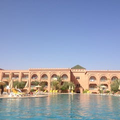 Photo taken at Hotal riad Mogador agdal by Yassine S. on 8/25/2013