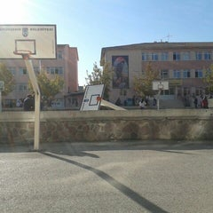 Photo taken at Bahçelievler Anadolu Lisesi by Naz O. on 10/29/2012