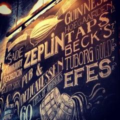 Photo taken at Zeplin Pub & Delicatessen by MeLDa on 3/10/2013