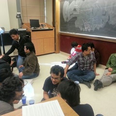 Photo taken at Beering Hall of Liberal Arts and Education (BRNG) by Iqbal J. on 11/18/2012