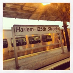 Photo taken at Metro North - Harlem 125th Station by Ajax on 1/16/2013