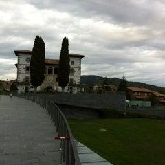 Photo taken at Palacio de Zuasti by Juanjo on 10/10/2012