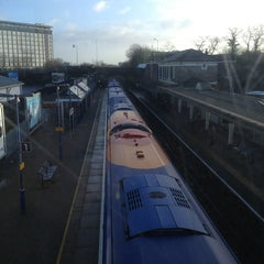 Photo taken at Feltham Railway Station (FEL) by Bodoki D. on 1/31/2013