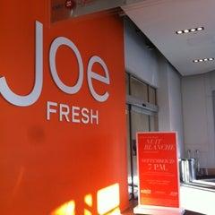 Photo taken at Joe Fresh by Gio on 9/28/2012