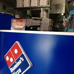 Photo taken at Domino's Pizza دومينوز بيتزا by Ahmed S. on 10/19/2012