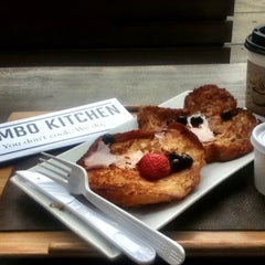 Photo taken at Dumbo Kitchen by Martha A. on 9/30/2012