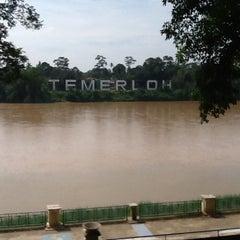 Photo taken at Tepi Sungai Termeloh by Geemok C. on 7/13/2013