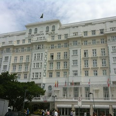 Photo taken at Belmond Copacabana Palace by Wladi M. on 1/9/2013