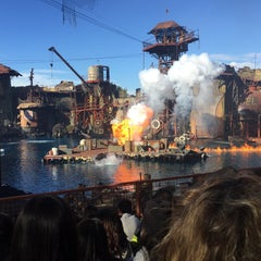 Photo taken at Universal Studios Backlot by Pau I. on 1/6/2016