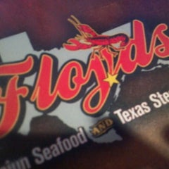 Photo taken at Floyds Cajun Seafood And Texas Steakhouse by Vivian G. on 12/8/2012