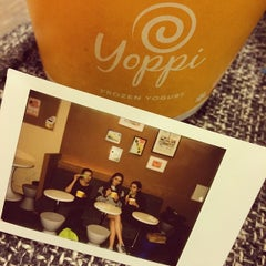 Photo taken at Yoppi by Iren O. on 3/21/2014