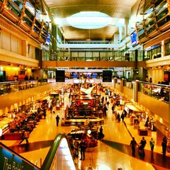 Photo taken at Dubai International Airport (DXB) | مطار دبي الدولي by Vincenzo B. on 10/28/2013