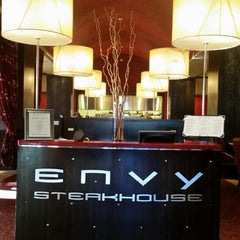 Photo taken at ENVY The Steakhouse by Ani K. on 3/28/2015
