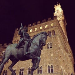 Photo taken at Piazza della Signoria by Phantom on 11/30/2012
