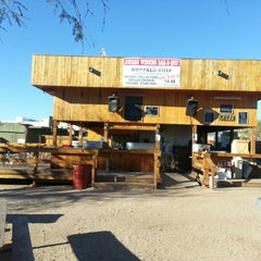 Photo taken at Buffalo Chip Saloon & Steakhouse by Josh A. on 2/25/2013