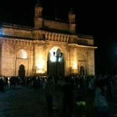 Photo taken at Gateway of India by Vivek S. on 10/14/2012