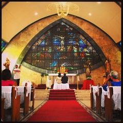 Photo taken at San Ildefonso Parish by Ivan S. on 6/29/2013
