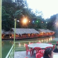 Photo taken at Veg Fish Farm Thai Restaurant (菜园酒家) by KL T. on 12/23/2012