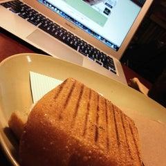 Photo taken at Panera Bread by Tim C. on 11/1/2012