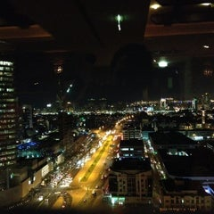 Photo taken at Kris with a view by Savio C. on 12/8/2012