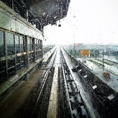 Photo taken at JFK AirTrain - Jamaica Station by foodforfel on 5/13/2013