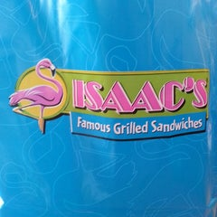 Photo taken at Isaac's Famous Grilled Sandwiches by Lorraine-Lori J. on 7/3/2013