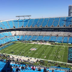 Photo taken at Bank of America Stadium by Alvaro H. on 10/20/2013