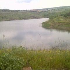 Photo taken at Bilkent Gölü by Ece A. on 5/17/2013