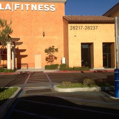 Photo taken at LA Fitness by Judy F. on 8/9/2013